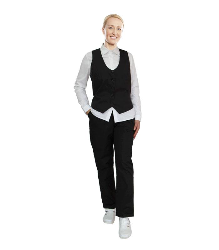 Bijela košulja crne hlače i prsluk – BITEKS d.o.o. Široki Brijeg
