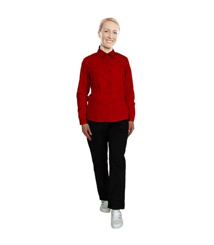 Crvena košulja i crne hlače – BITEKS d.o.o. Široki Brijeg